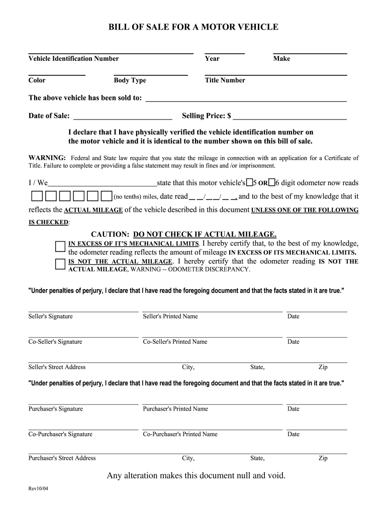 Bill Of Sale Nebraska - Fill Out And Sign Printable Pdf Template | Signnow