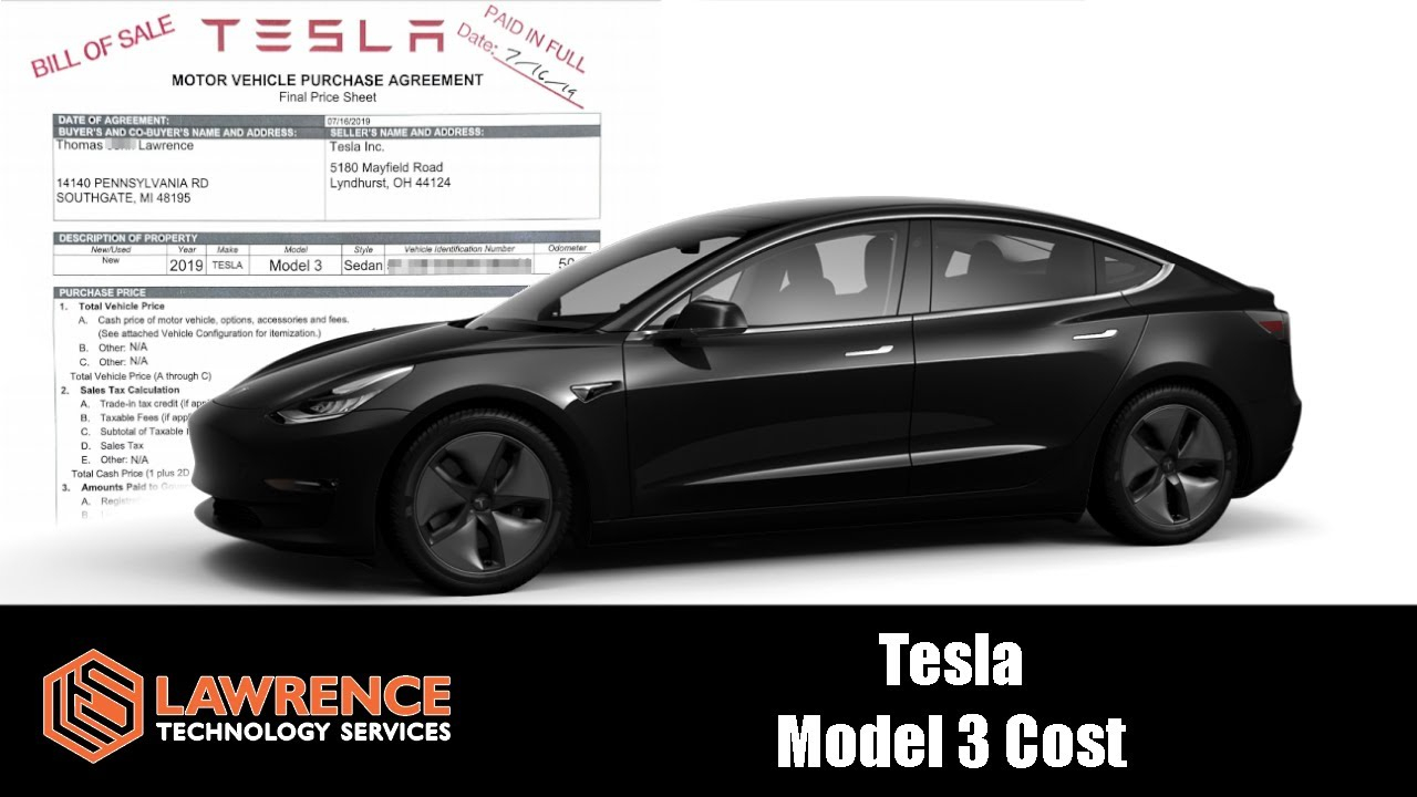 Tesla Model 3 Real And Actual Costs To Purchase And Operate