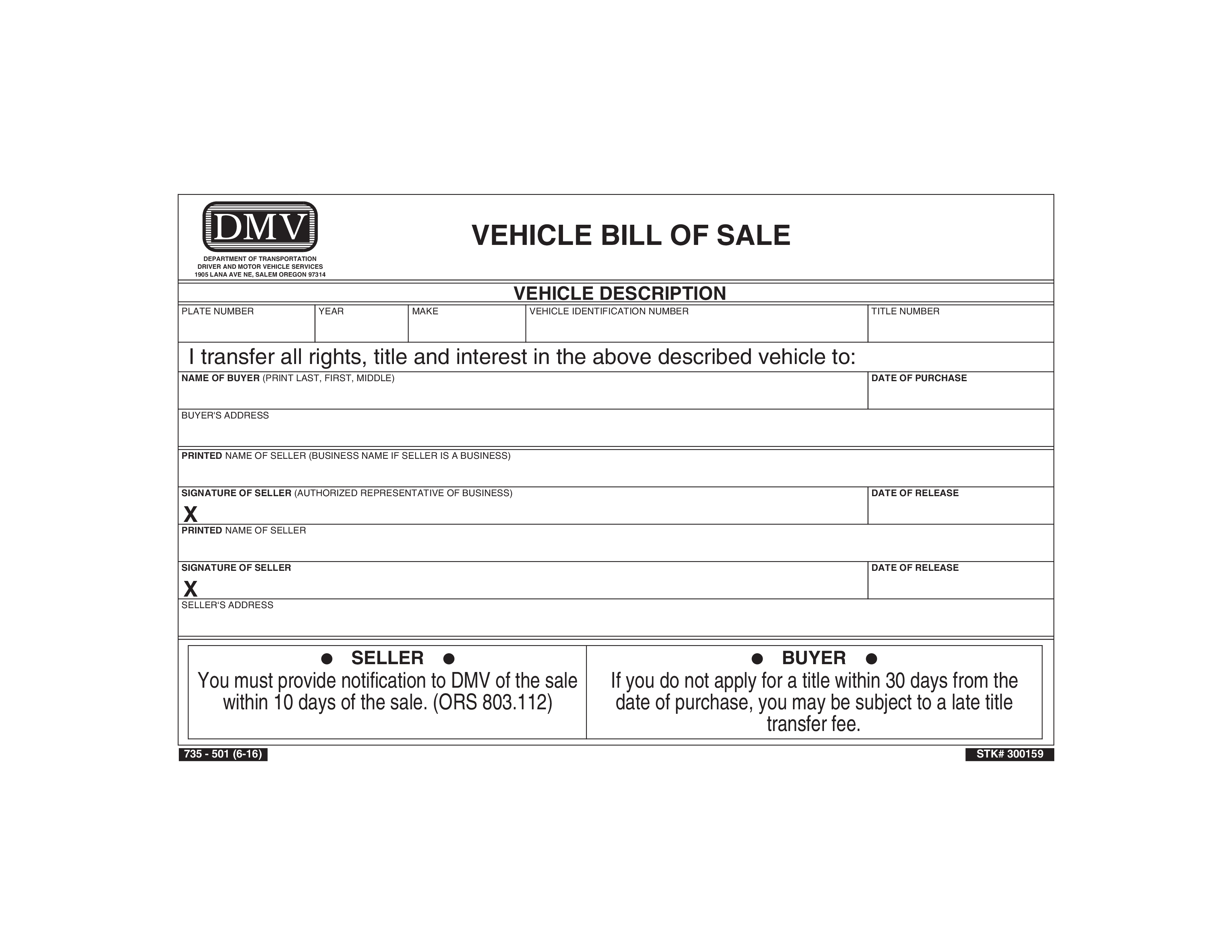 Used Vehicle Bill Of Sale - How To Create An Used Vehicle