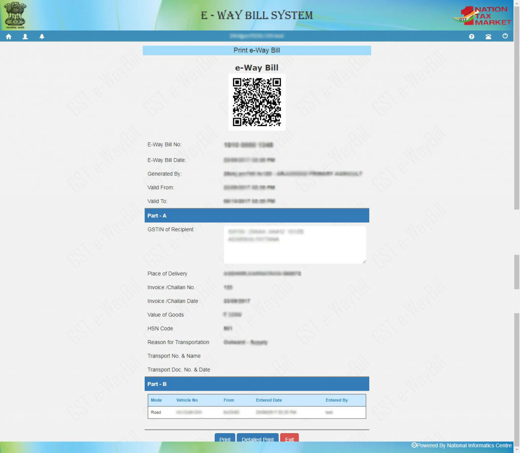 What Is Gst E Way Bill & How To Generate Via Online Or Sms